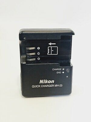 Original Genuine Nikon Mh-23 Quick Battery Charger