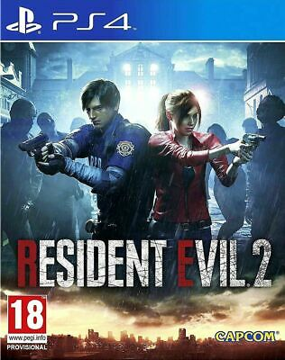 Re2 Resident Evil 2 Remake Ps4