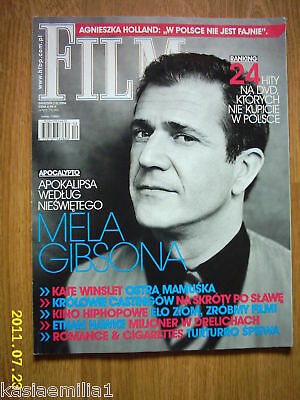 MEL GIBSON on front cover Film 12/06 Polish magazine