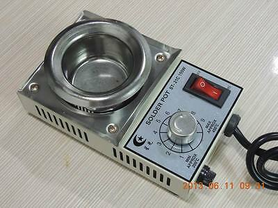 stainless steel Solder stove temperature Adjustable  50mm 220V 150W ST21C Silver