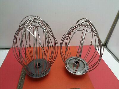 Pair of catering mixer whisk blades LOTCATR6M2B22