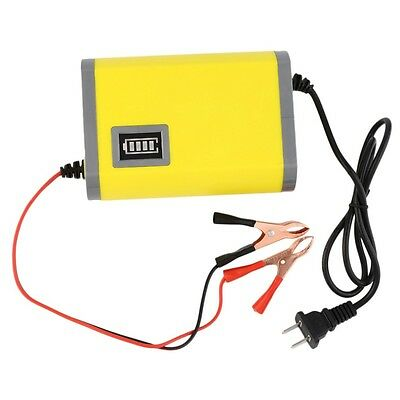 LED 12V 6A 2A Car Motorcycle Smart Automatic Battery Charger Maintainer Trickle
