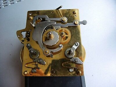 Vintage German Wall Clock MOVEMENT like FHS JUNGHANS PARTS Restore Gustav Becker