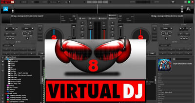 Virtual DJ 8 Pro Infinity Full Version- NEW