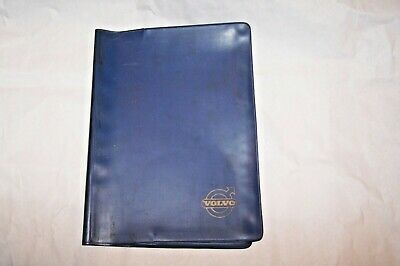 volvo owners manual case pouch p1800  used original no books smooth blue