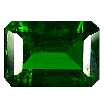 1.09 Ct Unbelivable Emerald Cut (7 x 5 mm) 100% Natural Green Chrome Diopside