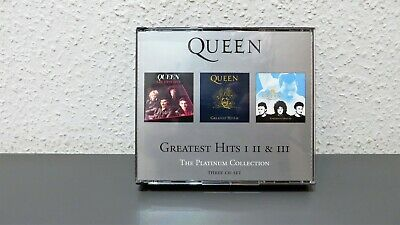 Queen - Greatest Hits 1,2,3 - The Platinum Collection - 3er CD Set - Musik Album