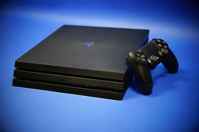 Sony Playstation 4 PS4 Pro 1TB Konsole schwarz Modell CUH 7116B B-Chassis ~8359