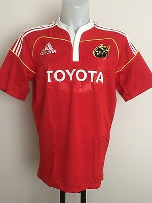 14b74a59262 Munster Rugby 2014-15 S/s Home Jersey By Adidas Size Men's Large Brand