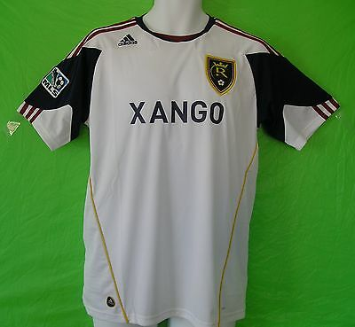 34d40506242f nwt~Adidas REAL SALT LAKE MLS USA Football Soccer Jersey Shirt Top~Mens Size