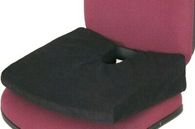NEW Chiro Lumbar Support Seat Wedge Cushion COCCYX  Back Ache Pain Relief Office