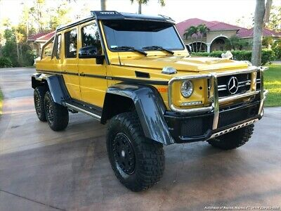 2016 G-Class G63 AMG 2016 Mercedes-Benz AMG G 63  6X6 Automatic 4-Door SUV