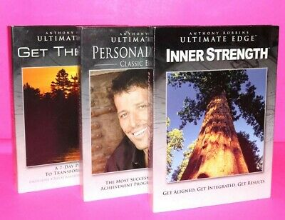 Anthony Robbins Ultimate Edge: A 3-Part System for Creating an Extraordinary Lif