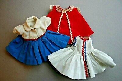 Vintage Madame Alexander-Kins Wendy Doll Tagged Clothing Lot Fits Ginny Muffie 5