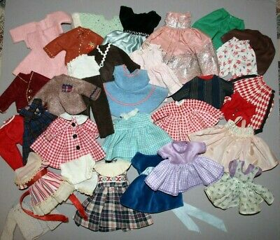 """Vintage Lot Doll Clothing To Fit Alexander-Kins Ginny Muffie Ginger Pam 8"""" Dolls"""