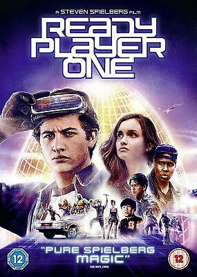 Ready Player One [DVD, 2018] (Steven Spielberg) - BRAND NEW - FREE P&P!