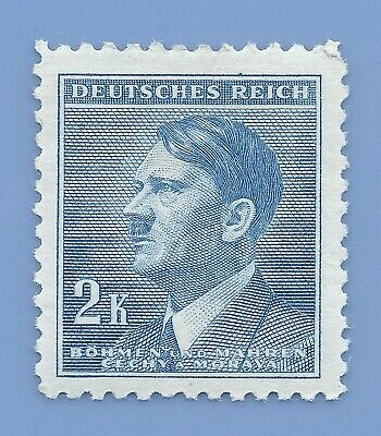 Nazi Germany Third Reich Nazi B&M Adolf Hitler 2k stamp MNH WW2 ERA