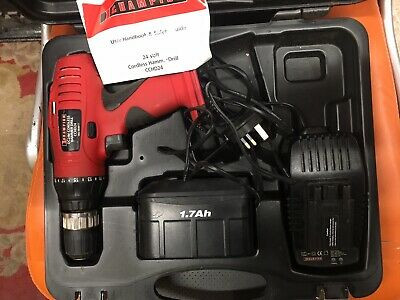Champion 24v Drill Set Battery Charger And Case