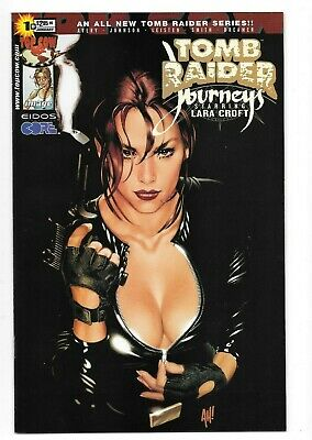 Tomb Raider Journeys #1 High Grade NM+ 9.6-9.8 Adam Hughes Variant Cover Top Cow