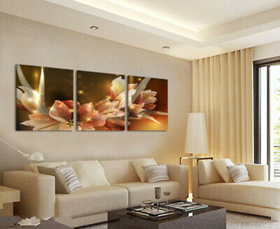 3 pieces Large canvas no frame Modern Abstract Art Oil Painting Wall Art Decor