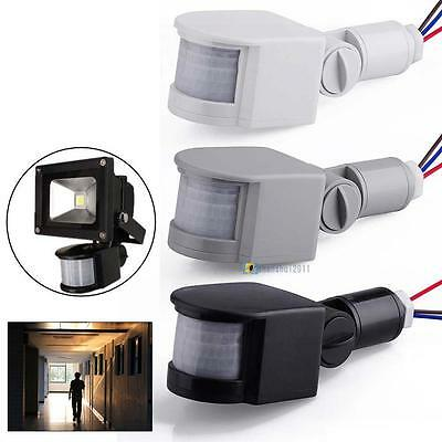 3 Colour 12M LED Security PIR Infrared Motion Sensor Detector Wall Light 140°#GA
