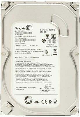 "Seagate 250Gb Barracuda HDD PC/Desktop 3.5""SATA Hard Disk Drive ST250DM000 Disc"