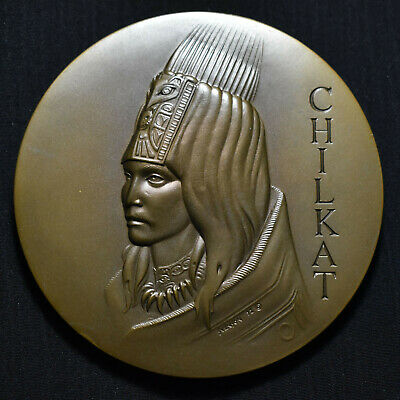 1972 Society Of Medallists #86, Chilkat, Large Medallic Art Co Bronze Medal