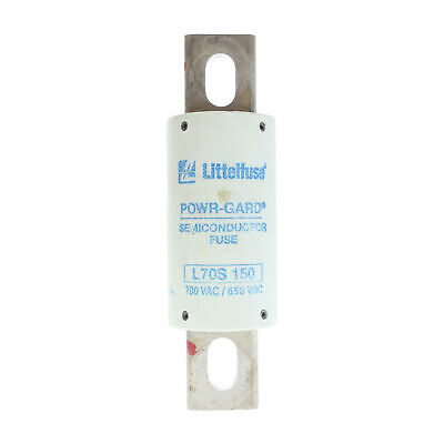 Littelfuse L70S-150 Powr-Gard High Speed Fuse, 700Vac, 650Vdc, 150A