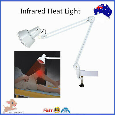 275W Infrared Heat Lamp Therapeutic Medical Light Pain Relief  Clip Type 220V AU