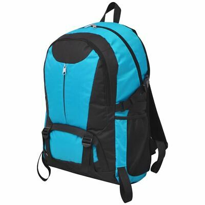 Travel Hiking Camping Backpack Rucksack Luggage Waterproof 40 L Black and Blue
