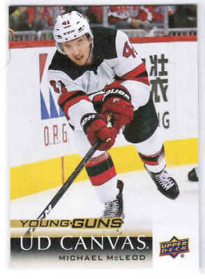 18/19 UD SERIES 2 HOCKEY YOUNG GUNS RC CANVAS CARDS (C212-C240) U-Pick From List