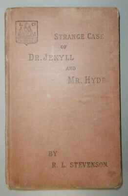 Antico libro Strange Case of Dr Jekyll and Mr Hyde Robert Louis Stevenson