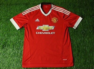 ... Soccer Jersey Size S Jeep Italy.  24.50 Buy It Now 9d 1h. See Details.  Manchester United England 2015-2016 Football Shirt Jersey Home Adidas  Original 4a09c812b