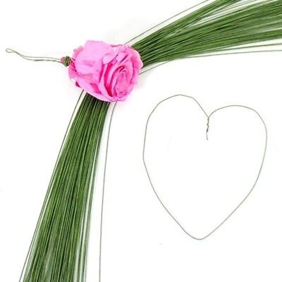 380Pcs Green Covered Florist Wire for Floristry/Crafts 24#