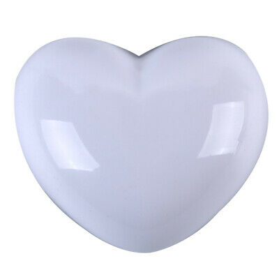Heart Shape Plastic Home Wall Anti Collision Cushion Door Handle Protect Pad Z