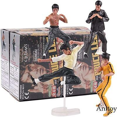 Game, Fun, 4pcs/set Cool Bruce Lee Kung Fu PVC Collection Model Action Figures T