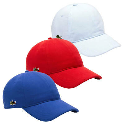 LACOSTE MENS 2019 Mens Cotton Pique Summer Hat Baseball Cap - EUR 64 ... 37b6cee6ea16