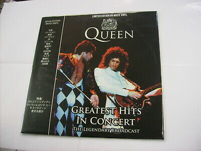 Queen - Greatest Hits In Concert - Lp White Vinyl Brand New 2018