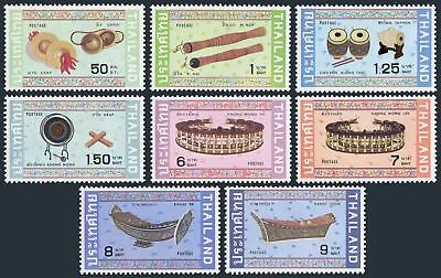 Thailand 1009-1016,lightly hinged.Michel 1023-1030. Musical instruments,1982