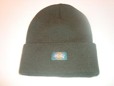 Dickies Core 14 Inch Beanie Cuff Knit Cap Hat Hunter Green One Size Most NWT 559253661f54