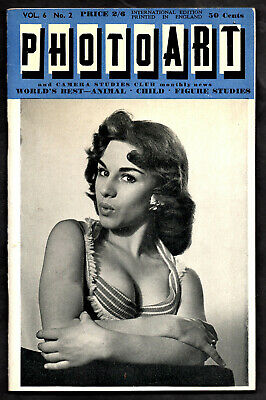 PHOTO ART Vol.6 No.2:May.1958-Photos by Eva Grant,Lawrence Neal,Horace Roye