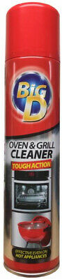 Big D Tough Action Oven And Grill Cleaner Spray 300ml Cleans Ovens Grills & BBQs
