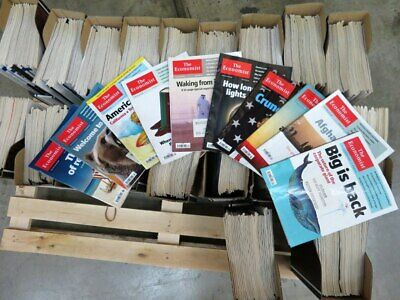 Job Lot of approx 579 x The Economist Magazines from Feb 05 to October 16 Books