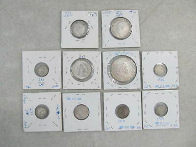 Nystamps Netherlands old coin collection with silver