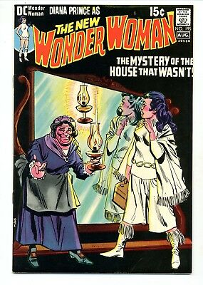 Wonder Woman #195    The Mystery of the House That Wasn't