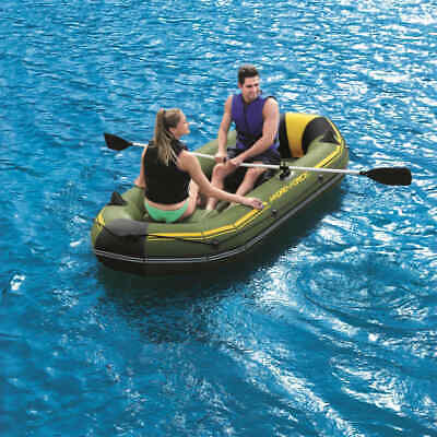 Bestway Hydro-Force Inflatable Raft Hand Pump Sport Fishing Rowing Boat Dinghy