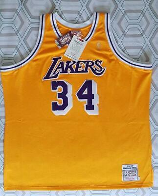 56c3fed66a15 SHAQUILLE O NEAL SHAQ Mitchell   Ness NBA 1996 1997 Authentic Jersey ...