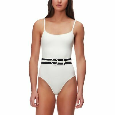 7afd17061ac SOLID   STRIPED The Nina One-Piece Swimsuit - Women s Small Cream ...
