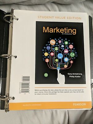 Marketing an Introduction 13th Edition