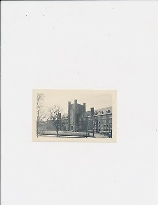 1918 Vint. Captioned Photograph Prudence Risley Hall Cornell University April 6